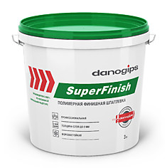Шпаклёвка SuperFinish 17л/28 кг